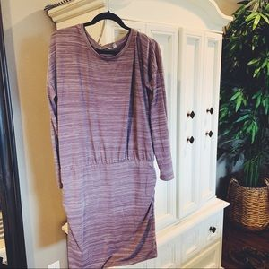 Athleta slouchy dress